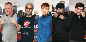 Boxers & Coaches at Boxing Gym on COVID-19 Fight - F1