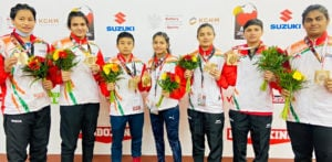 Female Boxers win 7 Gold Medals at Youth Games f