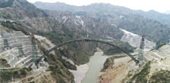 Indian Railways completes World's Highest Bridge Arch