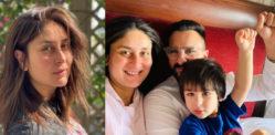 करीना कपूर खान ने तैमूर के साथ कोविद -19 चैट का खुलासा किया