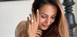 Malaika Arora sparks Marriage Rumours with Engagement Ring_ f