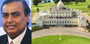Mukesh Ambani buys UK Country Club for £57m f