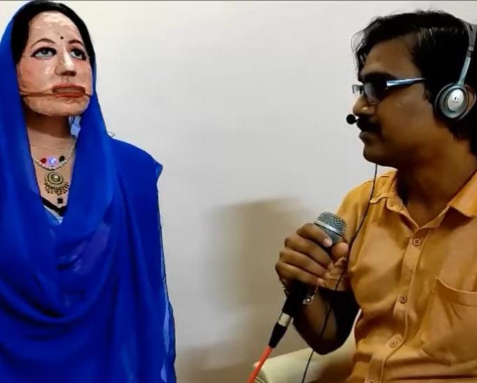 Mumbai Teacher makes 'Shalu' a Multilingual Female Robot
