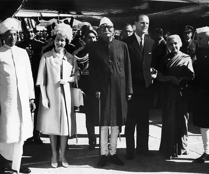প্রিন্স ফিলিপ এবং তাঁর ভারত সফরের কথা স্মরণ করছি India