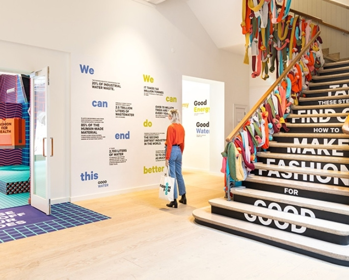 Three Indian Innovators selected in Fashion for Good- stairs