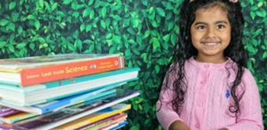 US Indian Girl aged 5 breaks Reading Record f