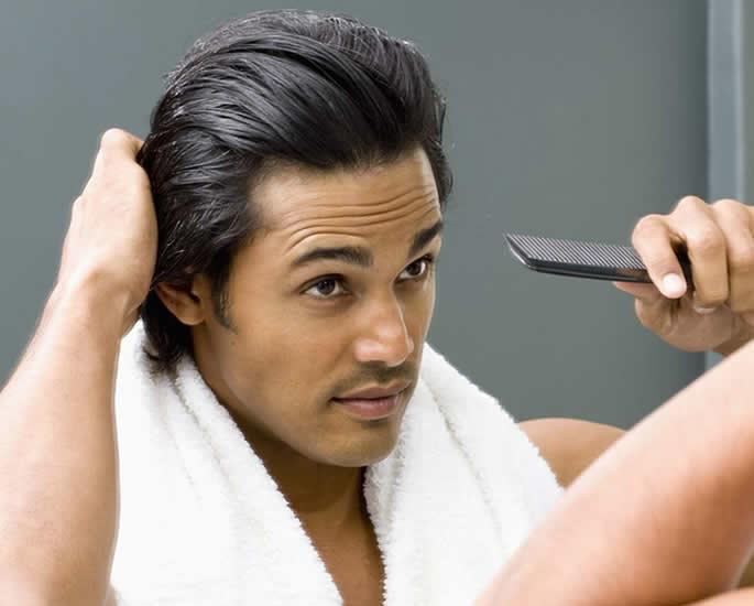 10 Hair Loss Remedies to Try for Desi Men - brush