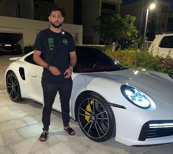 Amir Khan gets £160k Porsche Waterproofed for Dry Dubai