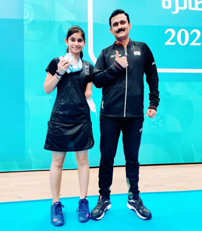 Badminton pair with 30-year age gap qualify for Paralympics - badminton