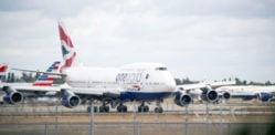 L'equipaggio di cabina della British Airways si rifiuta di presentarsi per i voli per l'India