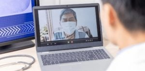 Doctors Providing Virtual Health Service to India-f