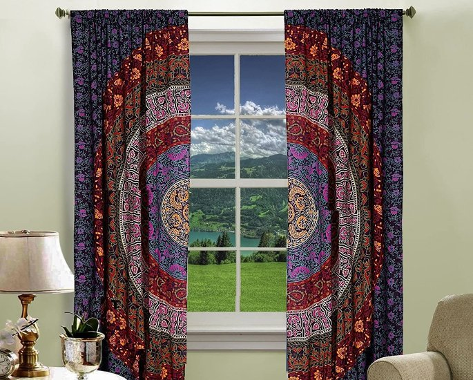 Indian-inspired ideas to Check Out - curtain