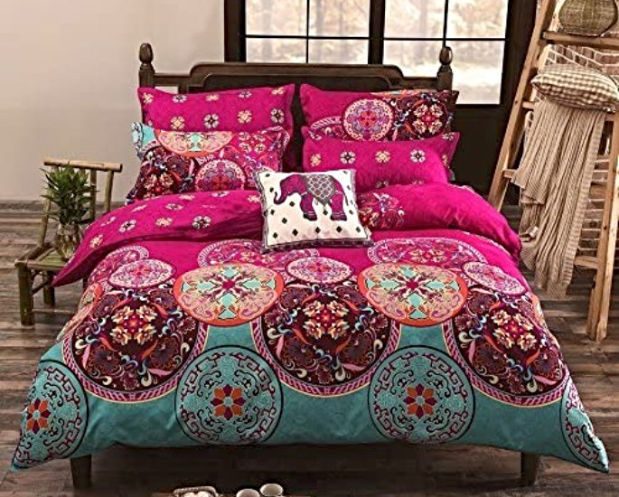 Indian-inspired Bedroom Decor ideas to Check Out - duvet