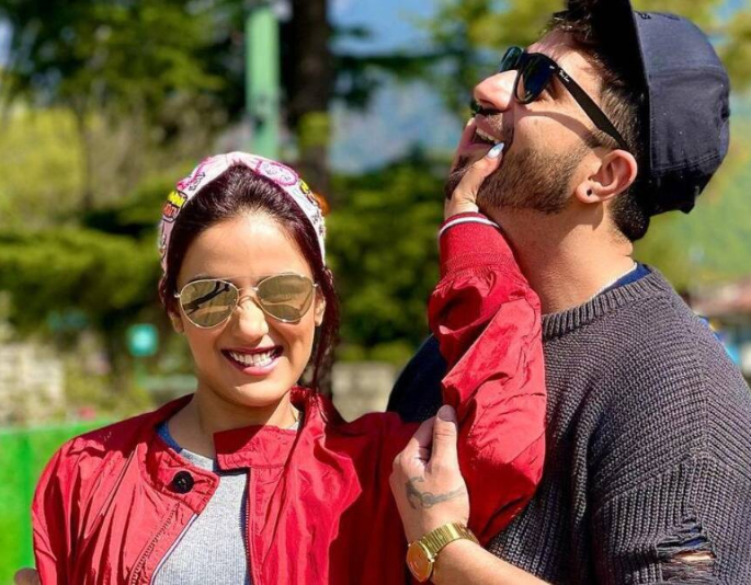 Jasmin Bhasin & Aly Goni contracted Covid-19 while in Jammu