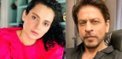 Kangana Ranaut trolled for Comparing herself to SRK