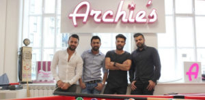Rafiq Brothers go from Car Wash to Burger Empire Archie's f