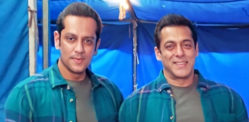 Salman Khan picture with Stunt Double goes Viral