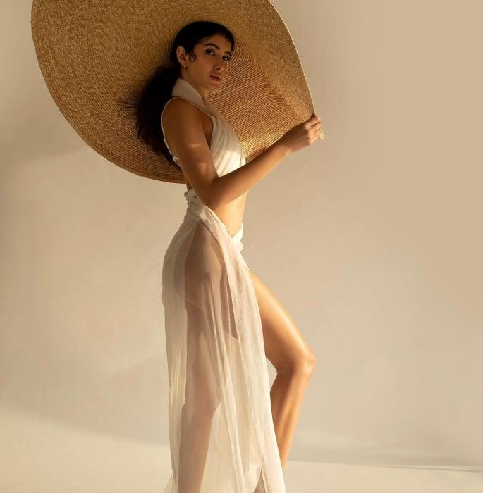 Shanaya Kapoor sizzles in Bikini & Sheer Overlay 2