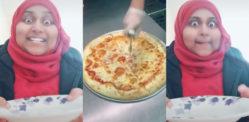 Video ya Pizza ya Mapenzi ya Shumirun Nessa kwenye TikTok