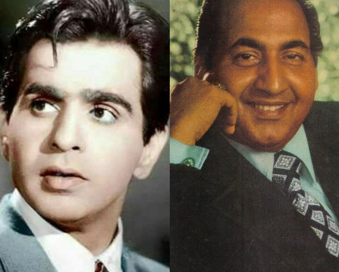 12 Top Actor-Singer Combinations in Bollywood – Dilip Kumar and Mohammad Rafi