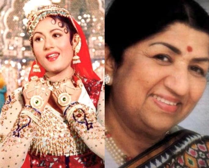 بالی ووڈ میں 12 اعلی اداکار۔ گلوکار کے مجموعے۔ مدھوبالا اور لتا منگیشکر