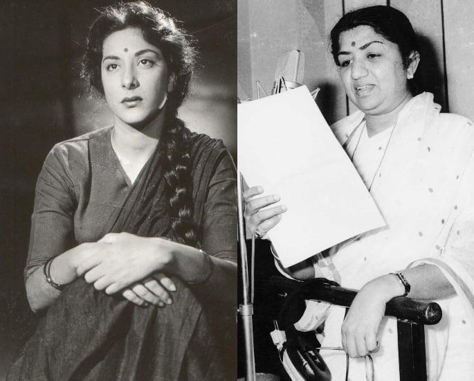 12 Top Actor-Singer Combinations in Bollywood – Nargis and Lata Mangeshkar