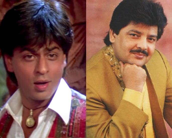12 Top Actor-Singer Combinations in Bollywood – Shah Rukh Khan and Udit Narayan