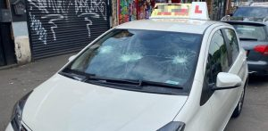 Driving Instructor has Windscreen Smashed in Racist Attack f