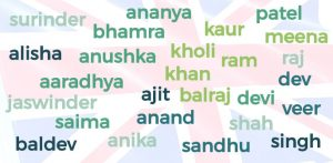 How Indian Names have Changed in the UK f