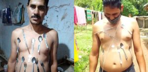 Indian Man says Body is Magnetic after Covid-19 Jab f