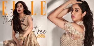 एले इंडिया कवर शूट f . में जाह्नवी कपूर का जलवा