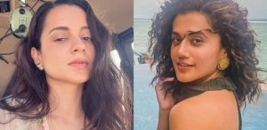 Kangana reacts to Taapsee Pannu calling her 'Irrelevant' f