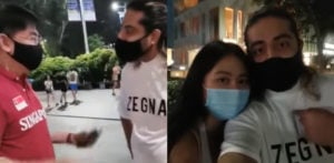 Man racially abused in Singapore for having Chinese Girlfriend f