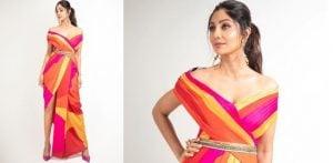 Shilpa Shetty dazzles in Multi-Coloured Sari f