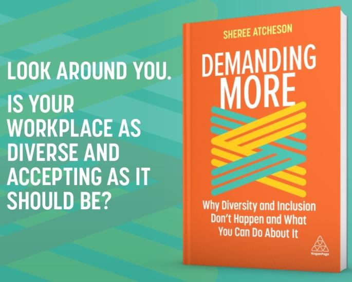 Shree Atcheson talks debut book Demanding More & Inclusivity