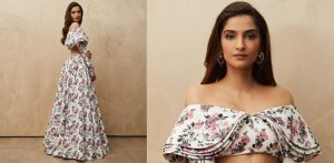 Sonam Kapoor turns heads in Floral Ensemble f