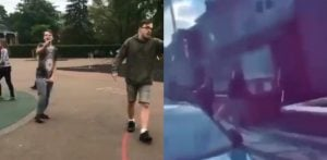 Violence erupts at House in Revenge Attack after Racist Abuse f
