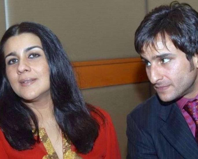 बॉलीवुड की कौन सी प्रसिद्ध शादियां टूट गईं - सैफ अली खान और अमृता सिंह