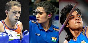 ٹوکیو اولمپکس 5 - F 2021 میں ہندوستان کے لئے 3 دلچسپ ستارے