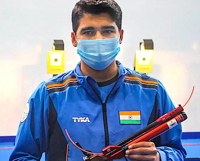टोकियो ऑलिम्पिक 5 मध्ये भारतासाठी 2021 रोमांचक तारे - सौरभ चौधरी
