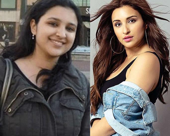 6 Inspiring Bollywood Weight Loss Transformations - parineeti