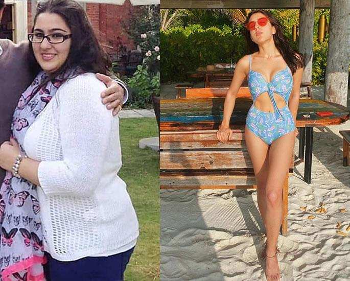 6 Inspiring Bollywood Weight Loss Transformations - sara