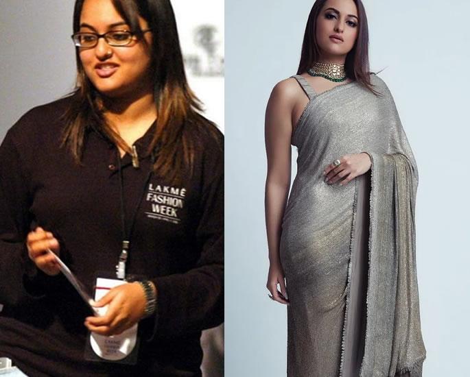 6 Inspiring Transformations - sonakshi