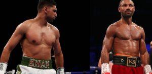 Amir Khan vs Kell Brook talks Underway f