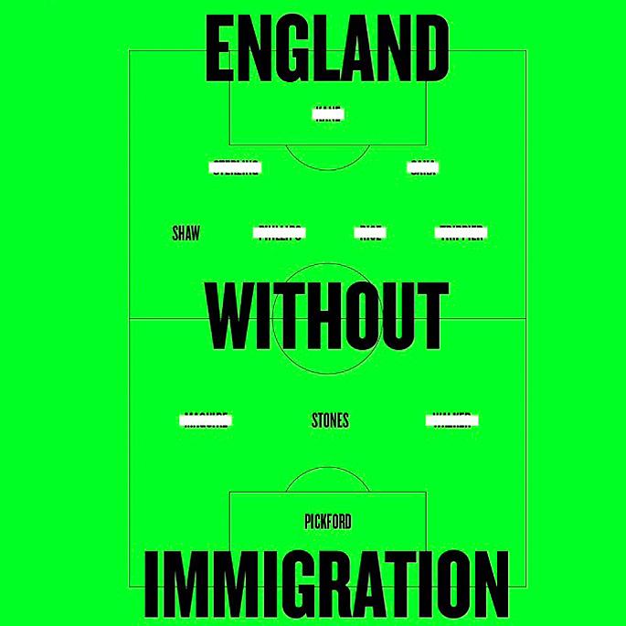 इंग्लंड फुटबॉल वर्णद्वेष: मूळ, देसी प्लेअर आणि भविष्य - इंग्लंड इमिग्रेशन