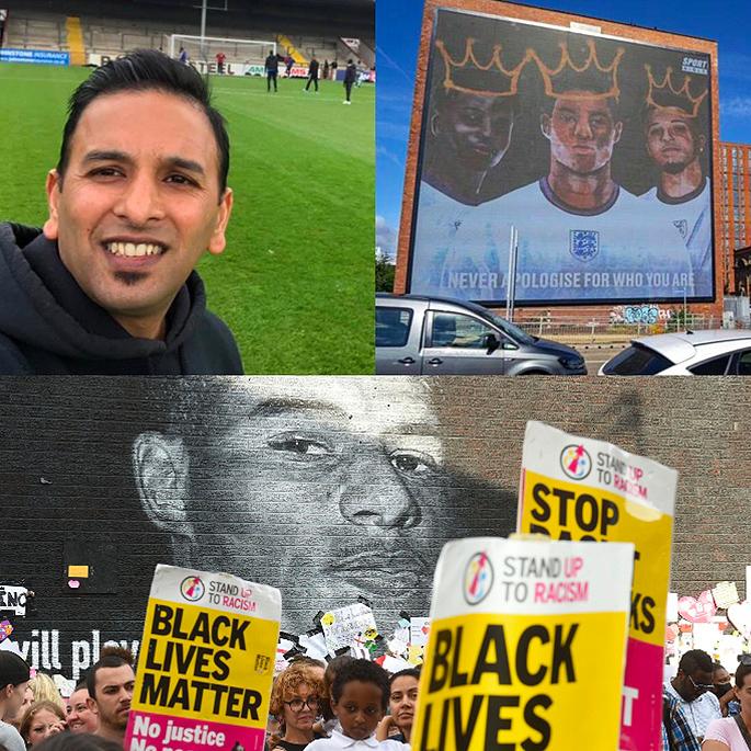 इंग्लंड फुटबॉल वर्णद्वेष: मुळे, देसी खेळाडू आणि भविष्य - हुमायूं इस्लाम मार्कस रॅशफोर्ड