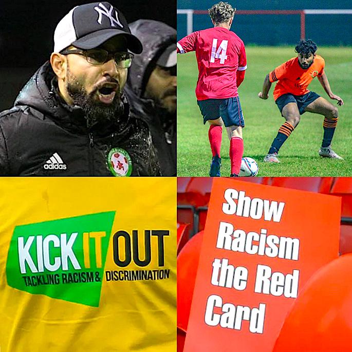 इंग्लंड फुटबॉल वर्णद्वेष: मुळे, देसी खेळाडू व भविष्य - इमरुल काझ ग्रासरुट्स किक इट आउट.jpg