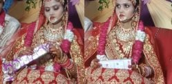 Indian Bride throws 'Embarrassing' Gift from Groom's Friends