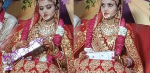 Indian Bride throws 'Embarrassing' Gift from Groom's Friends f