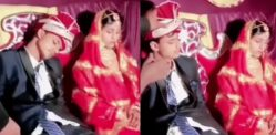 Indian Groom falls Asleep on Stage at his own Wedding